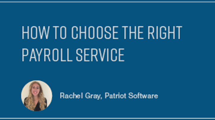 How to Choose the Right Payroll Service