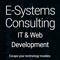 E-Systems Consulting IT & Web Development Logo