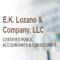 E.K. Lozano & Company Logo